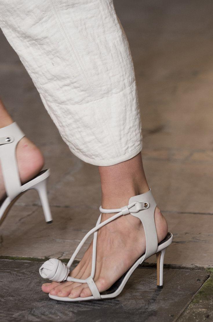 Isabel Marant at Paris Fashion Week Spring 2018 - The Most Daring Runway Shoes at Paris Fashion Week - Photos