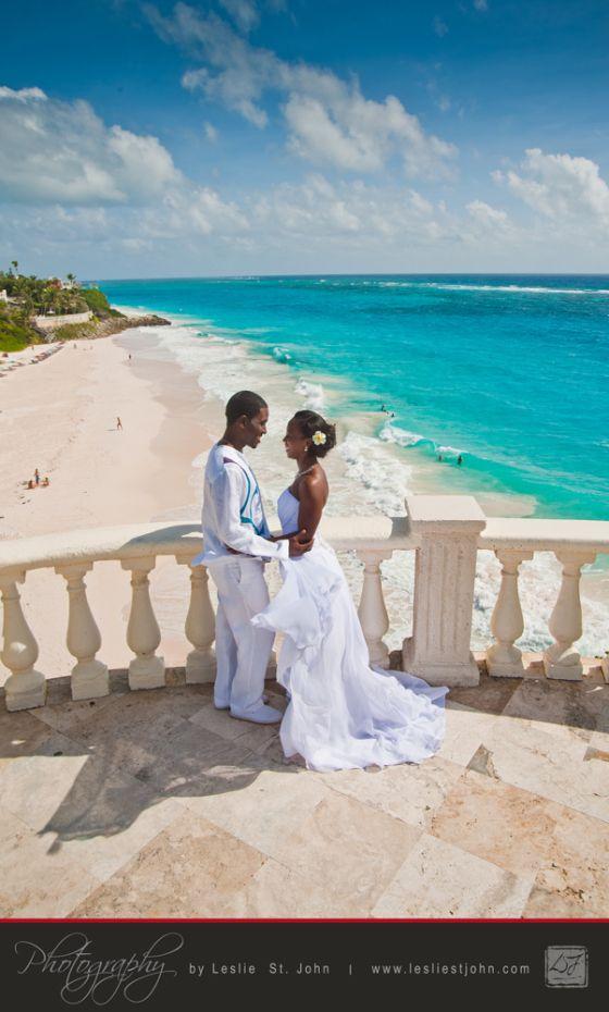 beach wedding south west uk%0A Barbados wedding  Crane shot  http   www lesliestjohn com