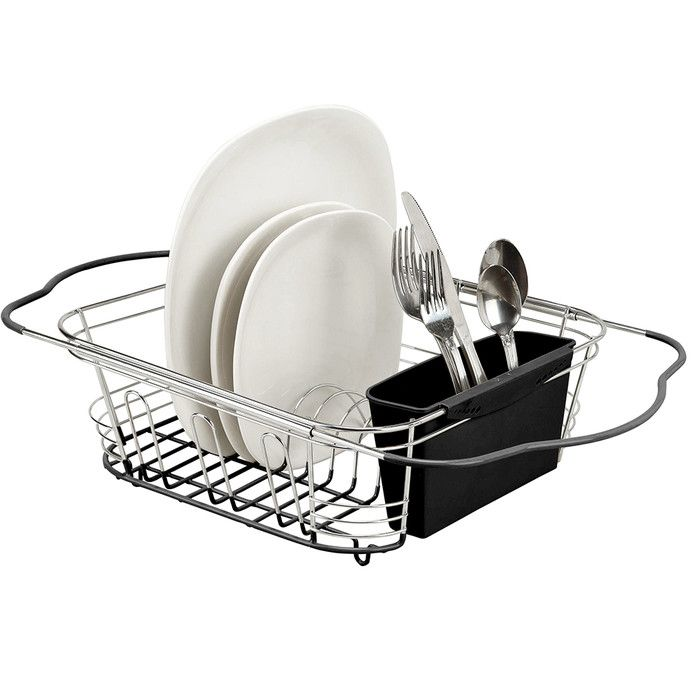 Dish Drying Rack Walmart Adorable 34 Best Dish Drainer Images On Pinterest  Dish Drainers Dinnerware Inspiration Design