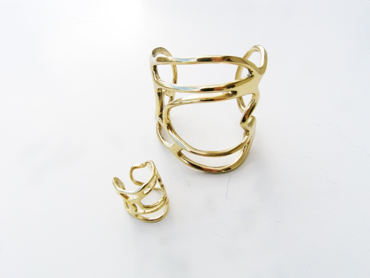 b-tal jewellery line two collection ring & bracelet is now available at http://www.b-tal.com/