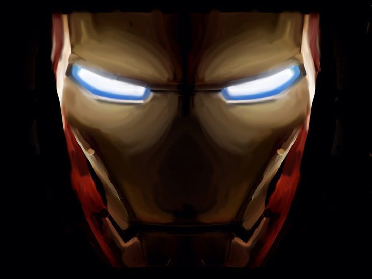 melting iron man mask - photo #13