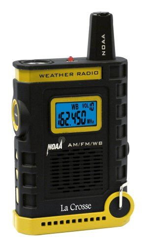 La Crosse 810-805 NOAA/AM/FM Weather RED Alert Super Sport Radio. Day Hike Tips #7: Watch the weather. When it rains in the desert there is always a chance of flooding!  When hiking, always be mindful of the fast-changing weather and be familiar with your surroundings so you are ready to divert to safety if necessary. Get more day hike tips http://www.campingforfoodies.com/tips-for-day-hiking-in-the-arizona-desert-like-a-gila-monster/