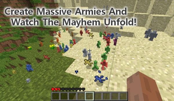 Clay Soldiers Mod para Minecraft 1.5.1