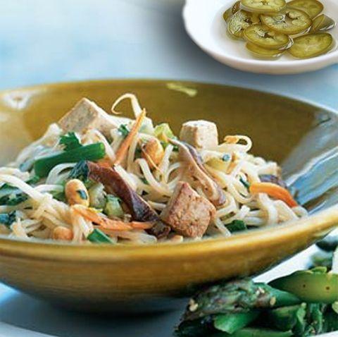 Рецепт тайской лапши Пад тхай с тофу (рецепты тайской кухни)