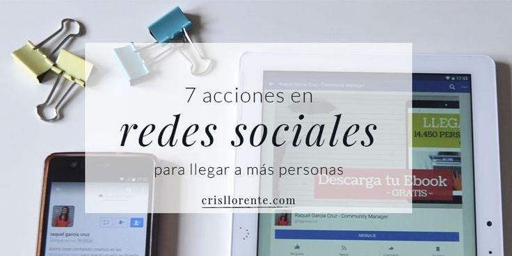 Ganar visibilidad en redes sociales no significa que siempre haya que invertir dinero en publicidad. Raquel García Cruz te explica cómo hacerlo sin dinero.