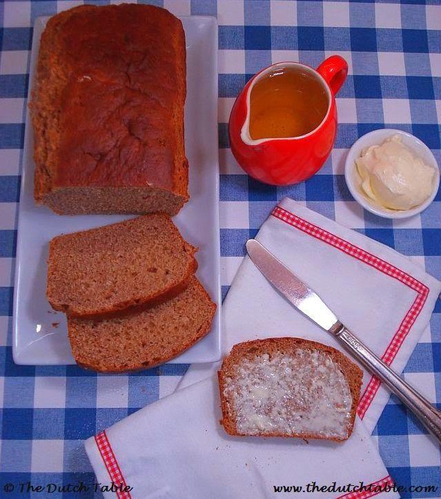 The Dutch Table: Honingkoek (Dutch Honey Cake)