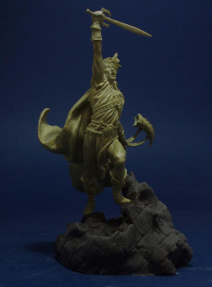 Elric Of Melnibone Elric Of Melnibone Statue Michael