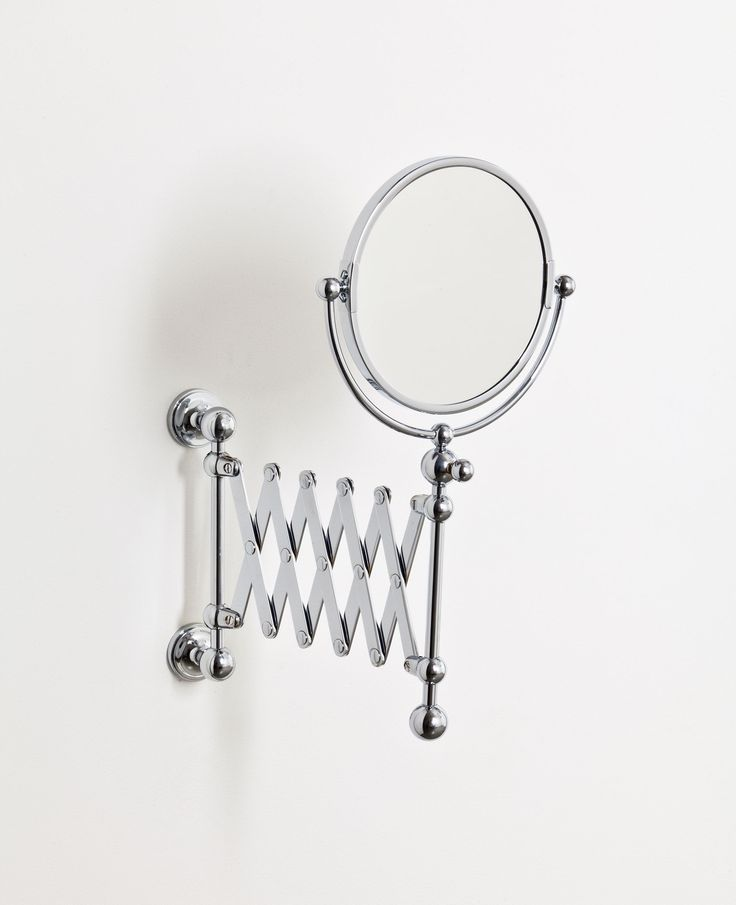 This beautifully made collection of bathroom rails and holders finished in chrome, nickel or incaloy gold are simple, modest and understated #bathrooms #bathroommirrors #cosmeticmirrors