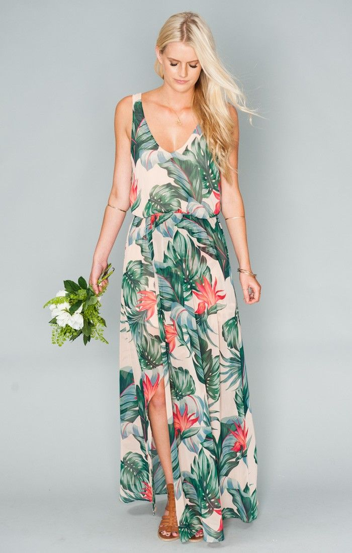 Kendall maxi dress kauai kisses wrap around skirt for Wedding dresses for tropical wedding