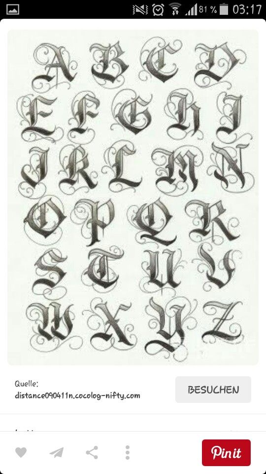 Schrift Calligraphy Fonts And Scripts Lettering