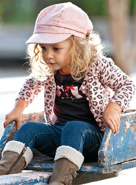 Winter 2012 Fashion Leopard Clothes Sets Children Girls 3-PC-Set