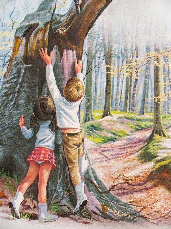 lottielulu: lil' vintage story books - in the forest - marcel marlier