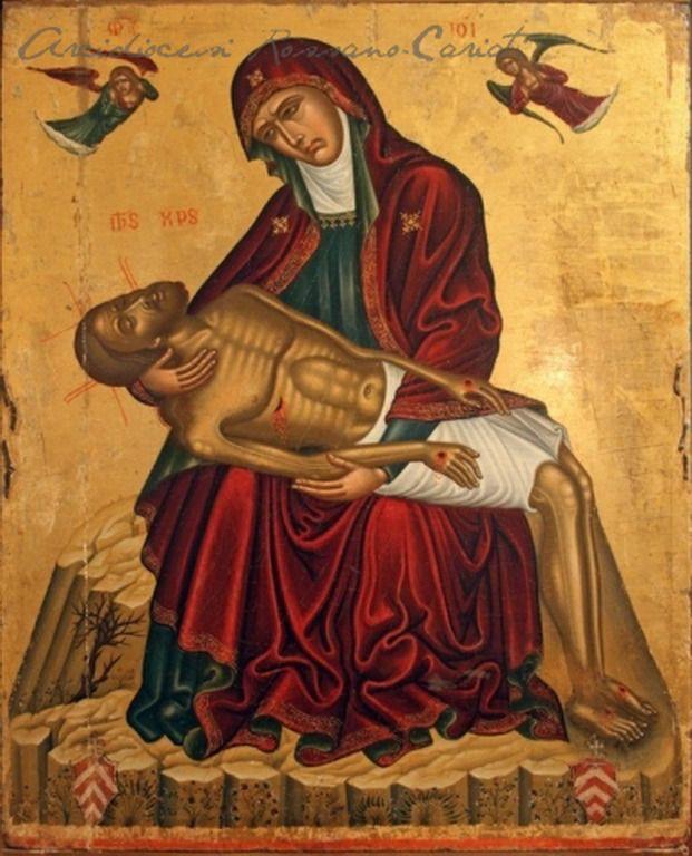 .:. Παβίας Ανδρέας – Andreas Pavias [π.1440-μεταξύ 1504 - 1512] |Pieta Rossano