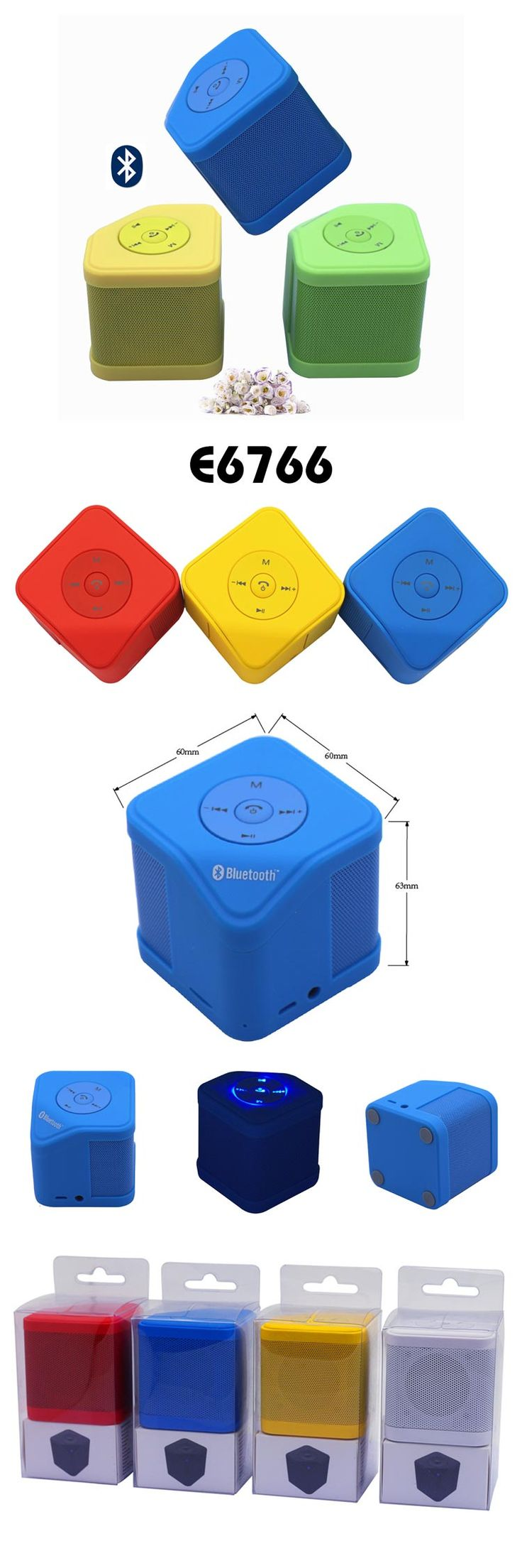 Bluetooth Speaker  * Function:support TF card read/AUX  * Bluetooth version:bluetooth V2.1+EDR Class2 A2DP  * Frequency:2402~2480MH  * Battery :3.7V 450MAH  * Charging voltage: DC 5V Charging time about 2hours  * Transmission distance: 10 meters  * Frequency response: 100HZ~20KHz  * Playing time: about 3-4 hours  * Speaker Specifications:Ф45mm 4Ω 3w  * Size: 60*60*63cm  * Material:PC www.ideagroupigm.com