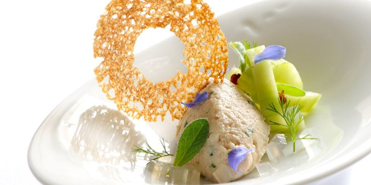 Simon Hulstone shares his fabulous mackerel pâté recipe with pickled cucumber recipe. Simon Hulstone is famous for his fantastic fish and seafood dishes