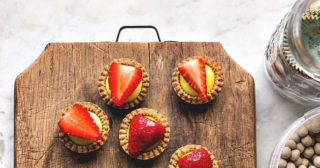 Tartellette alla frutta con crema pasticcera | PANEDOLCEALCIOCCOLATO