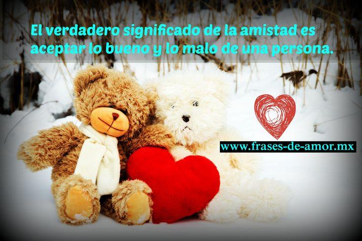 El verdadero significado de la amistad es aceptar lo bueno y lo malo de una persona fraces de amor- frases de amor san valentin  http://frases-de-amor.mx/el-verdadero-significado-de-la-amistad/  #frasesdeamor #frases #amor #pareja #novios #frasesbonitas #fraseslindas