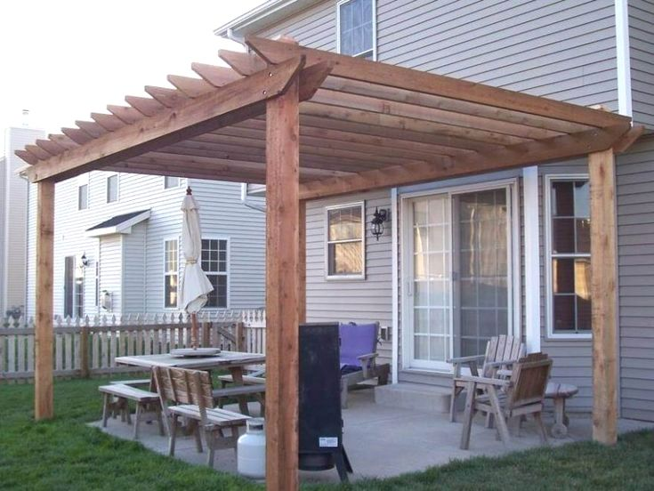 31 Pergola Designs with Roof You Might Consider | Backyard ...