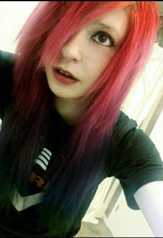 Rainbow hair scene Viro Psycho