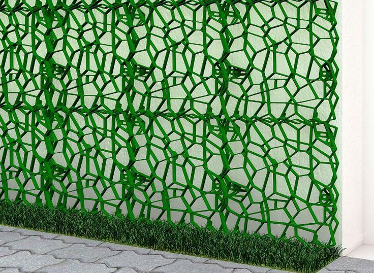 Geoplast s p a wall y verde verticale e sostenibilit - Edera da interno ...