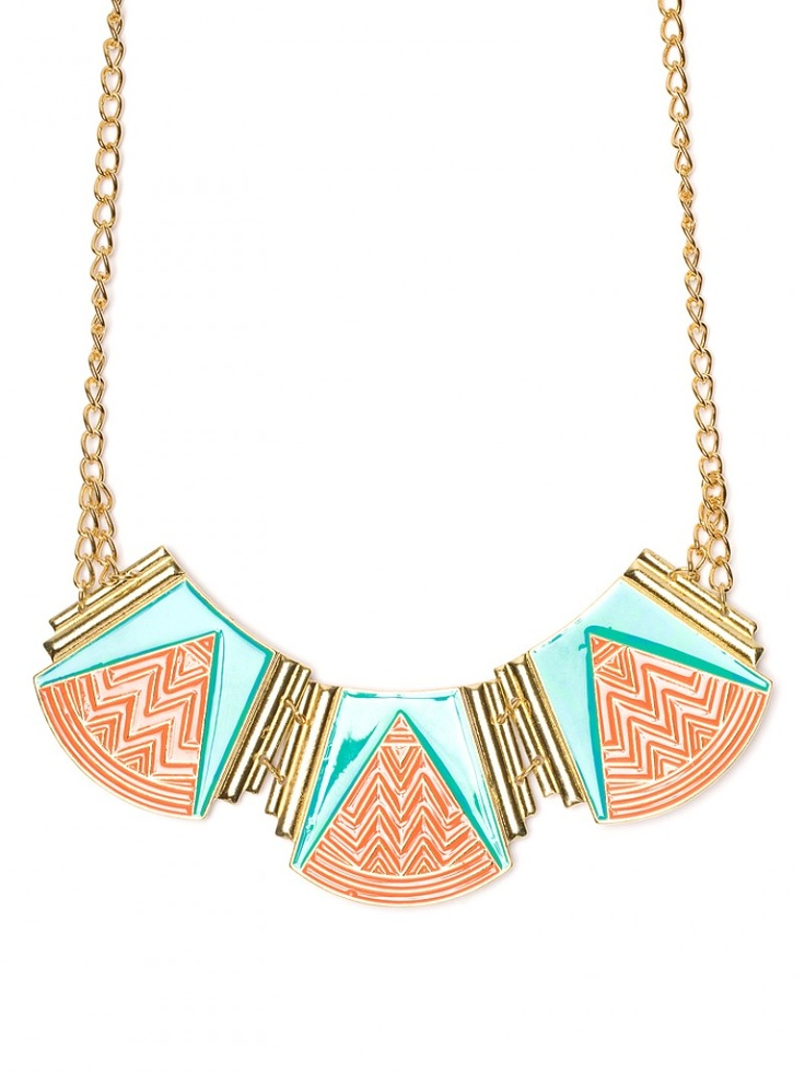 Tribal Triad BibTribal Bibs, Bold Necklaces, Statement Necklaces, Tribal Triad, Tribal Necklaces, Bib Necklaces, Triad Bibs, Art Deco, Bibs Necklaces