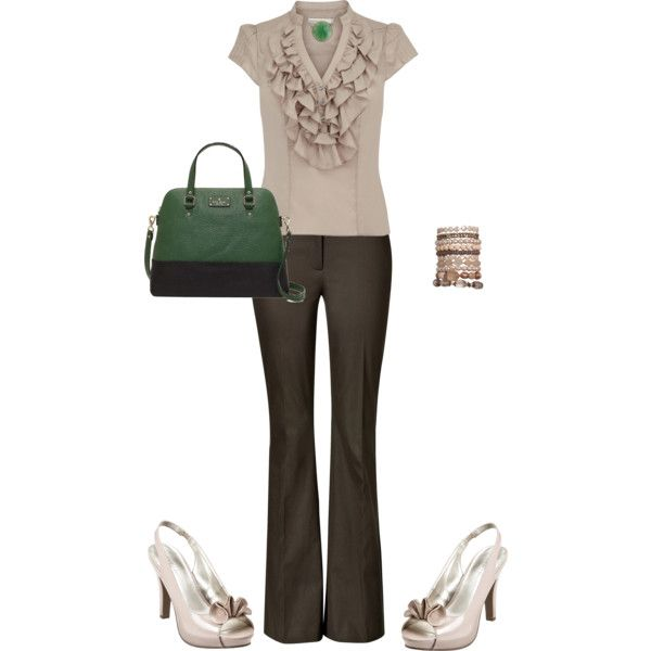 """""""Work Outfit"""" by bethanywebb on Polyvore"""