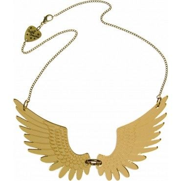 Large Gold Pegasus Necklace from Tatty Devine $69
