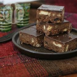 Chocolate Tiffin @ allrecipes.co.uk. Invented in the early 1900s in Troon, Scotland.