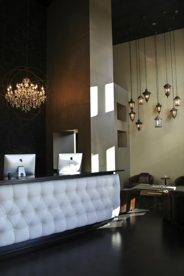 25 best ideas about Salon reception desk – Tanning Salon Reception Desk