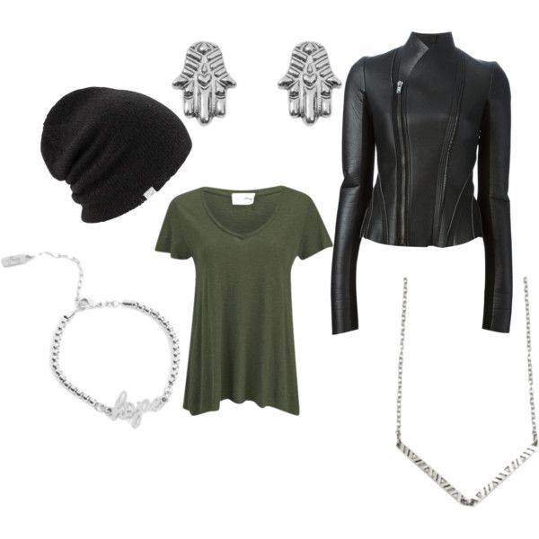 Running Errands by brittanypileggi on Polyvore featuring American Vintage, Rick Owens Lilies and Coal