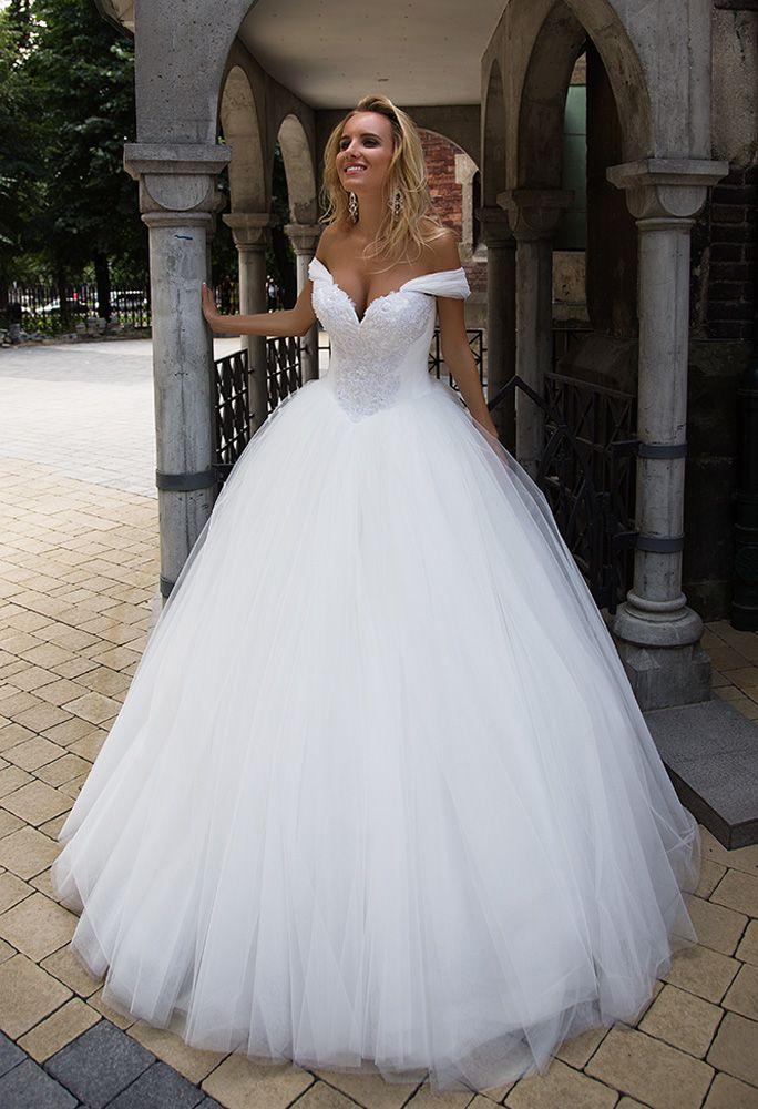 New Oksana Mukha dress at milena us bridal Houston you may order online month production no