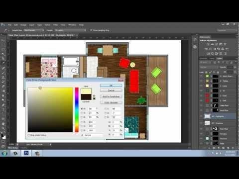 TUTORIAL PHOTOSHOP INTERIOR DESIGN Photoshop CS6