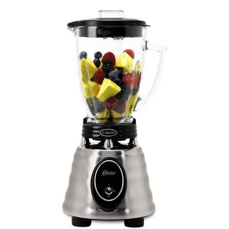 """""""This seriously powerful blender is all you'll ever need to whip up healthy smoothies in a flash. With a 600-watt motor, this Oster Heritage blender crushes cubed ice in seconds.  Better Homes & Gardens receives a commission for purchases made through the link on this page."""""""