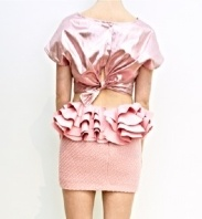 The Alix Skirt with Rufles