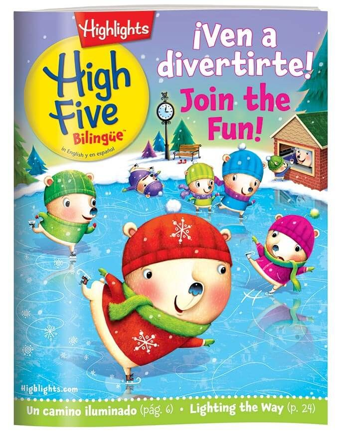 Highlights High Five Bilingue Magazine