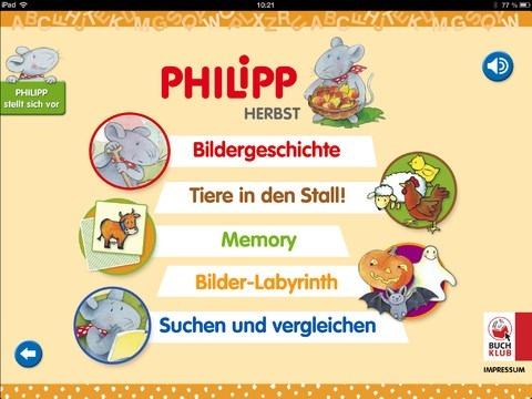 Philipp die Maus | iPad Kinder Apps