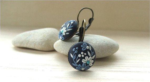 Flower Earrings Jewelry Gift Gift Ideas Gift For by Floraljewel