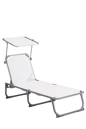 """Camp chairs and loungers are handy to have for all outdoor activities.<div class=""""pdpDescContent""""><ul><li> Polyester</li><li> Metal</li><li> Folds for easy storage</li><li> No assembly required</li></ul></div><div class=""""pdpDescContent""""><BR /><b class=""""pdpDesc"""">Dimensions:</b><BR />L187xW58xH81 cm<BR /><BR /><div><span class=""""pdpDescCollapsible expand"""" title=""""Expand Cleaning and Care"""">Cleaning and Care</span><div class=""""pdpDescContent"""" style=""""display:none"""