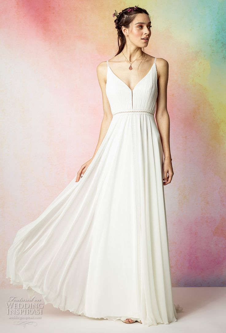 17 best images about style goddess gowns on pinterest a for Simple romantic wedding dresses