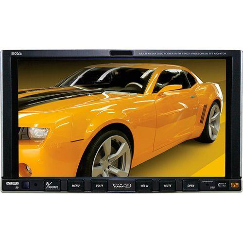 """Submarino DVD Player Automotivo Muitimídia Tela 7"""" Widescreen BOSS BV 9555 com Controle - R$377,52"""