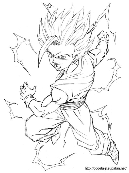 Sexy gohan drawing lesson porn