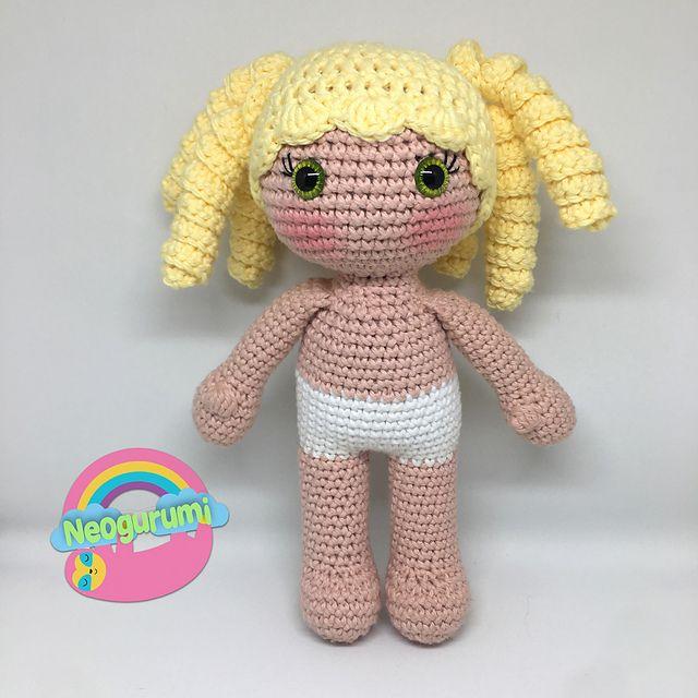 Ravelry: Sailor Mercury Amigurumi Doll pattern by Wendy Korz | 640x640