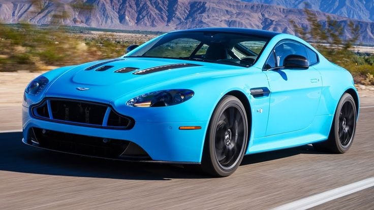 2015 Aston Martin V12 Vantage S: The Biggest V-12 In The Smallest Aston!...