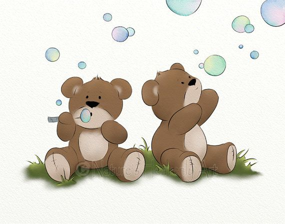 how to draw a cute baby bear