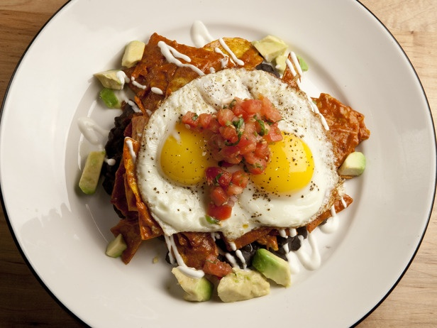 Chicken Chilaquiles With Fried EggsFun Recipe, Guatemalan Food ...