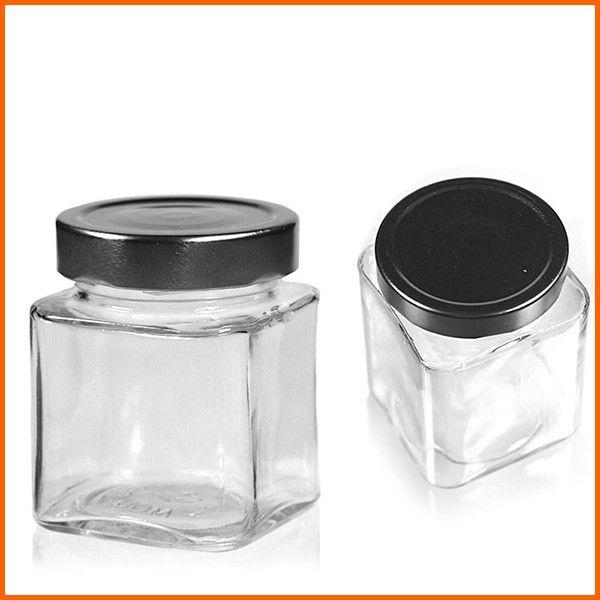 Factory price sealed square metal lid glass jar, View metal lid glass jar, Newsun Product Details from Zibo Nedsun Glassware Co., Ltd. on Alibaba.com