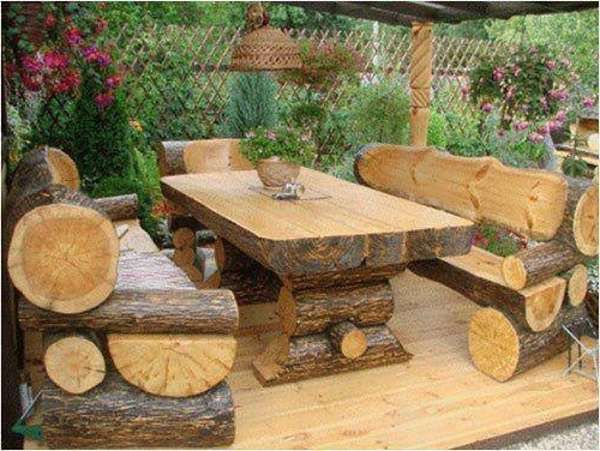 17 best images about rustic furniture on pinterest for Wooden garden decorations