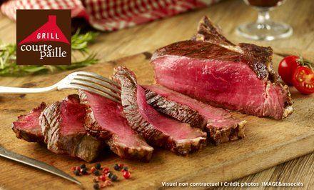 image pour Courtepaille: -40% sur les grillades + un apéritif offert