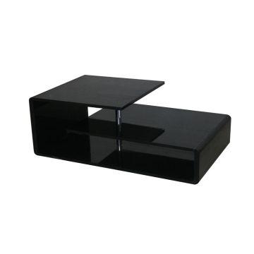 konferenční stolek LORENZO 317 černá  akce