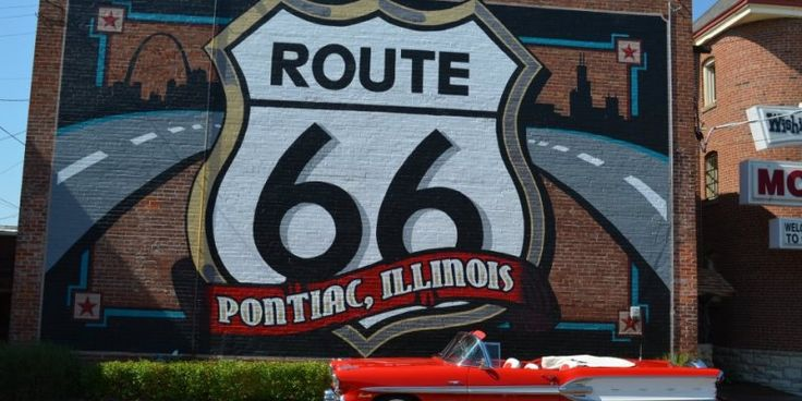 The absolute best Route 66 photo op: IL's Route 66 Hall of Fame and Museum #travel #roadtrips #roadtrippers